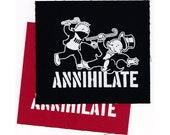 Iron-on Patch - ANNIHILATE