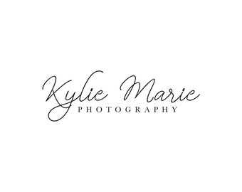 Instant Download Logo Calligraphy Logo Email Signature Logo Blog Signature Logo Download Photography Logo Photography Watermark Fotografie