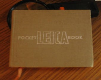 1952 Pocket Leica Book - Theo Kisselbach - Printed in Germany