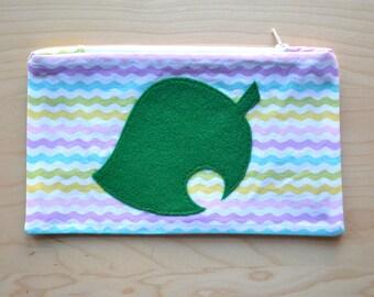Animal Crossing New Leaf Zipper Pouch