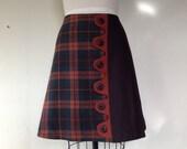 Bailey asymmetrical a-line skirt Sz 10