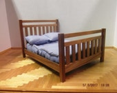 Miniature Mission Style Double Bed