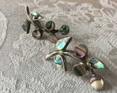 Taxco Sterling silver and Abalone earrings