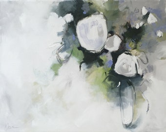 Madame Emile Mouillere - Abstract Art - Mixed Media on Canvas - Gallery Wall Art - Modern Art - Abstract Wall Art - Original Art