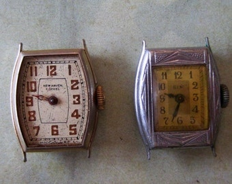 Vintage Antique Watch movements Steampunk - Scrapbooking x68