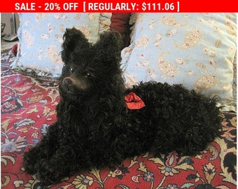 SOLD on Layaway for Heidi - Installment #3 - Antique Dog Boudoir French Lingerie Case 19thc