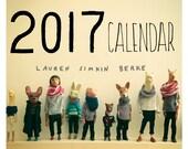 NEW - 2017 Wall Calendar