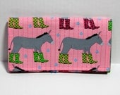 Coupon organizer wallet- Donkeys 2