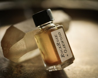Rockrose + Oakwood - Strange Companion Blend™ - Natural Perfume Oil