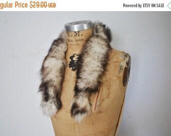25% OFF Fox Fur Collar / genuine fur / 1980s