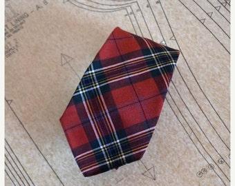 Sale Scotch Necktie Vintage 70s Currie Loch Glen Cravat