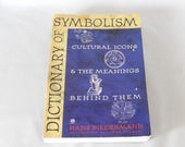 Dictionary of Symbolism, Biedermann, vintage book, cultural icons, illustrated