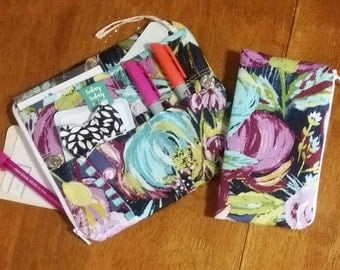 MADE to ORDER - Personal size pouch insert - TN Insert - Personal size traveler's notebook