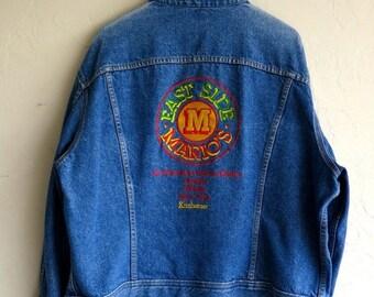 "30% OFF HOLIDAY SALE Vintage ""Mario's"" Lee Denim Jacket"