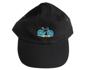 Bicycle + Lightning Bolt DAD hat