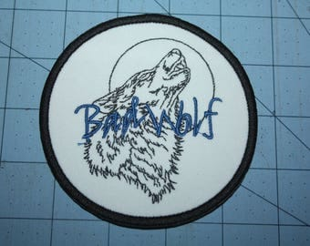 Bad Wolf Iron on patch