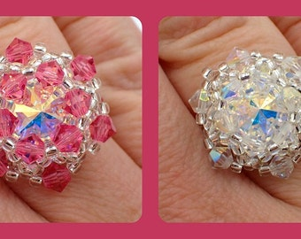 Bling in the New Year Ring PDF Jewelry Making Tutorial (INSTANT DOWNLOAD)