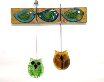 Rustic birds wall hook, home decor, wall key holder, decorative key hook, decorative wall hook.