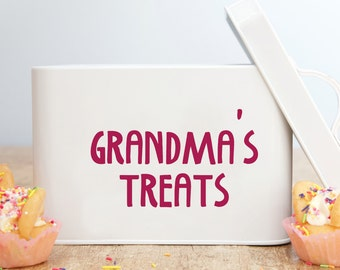 Personalised Treat Tin