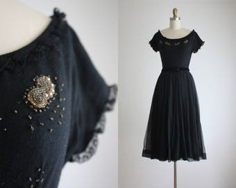 1950s midnight moon dress