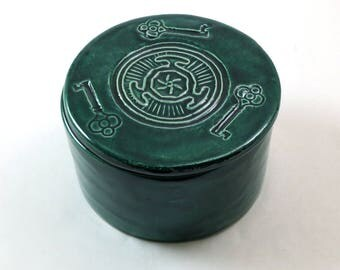 Hecate Wheel Box Handmade Pottery
