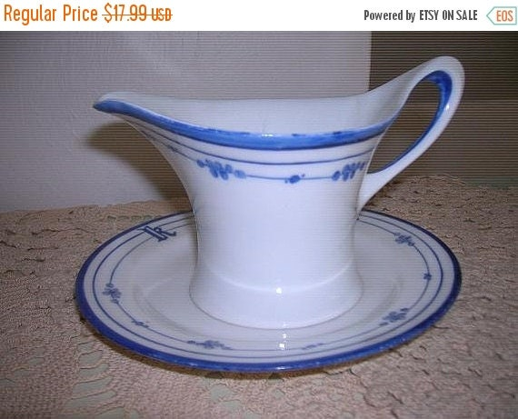 SALE- Lovely Handpainted Small Pitcher and Plate, Haviland, France