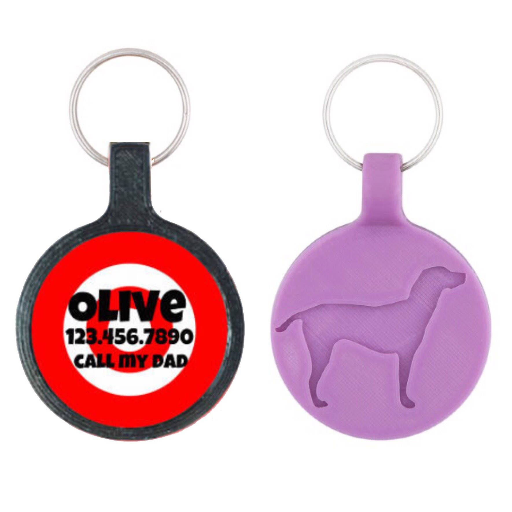 White chef apron target - Target Practice Custom Personalized Dog Id Pet Tag Custom Pet Tag You Choose Tag Size Colors