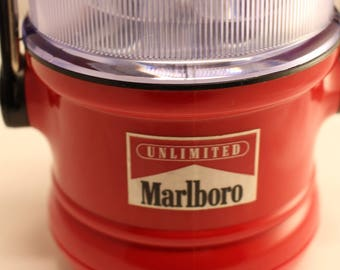 Vintage Marlboro Unlimited Advertising Flashlight Lantern Camping