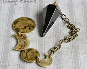 Black Obsidian Pendulum...