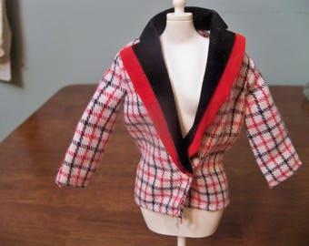 genuine  barbie blazer jacket velvet collar sixties