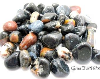 Sardonyx Tumbled Stone, one, Crystals, Rock Hound,