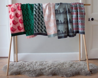 Knitted Cotton Baby Blankets