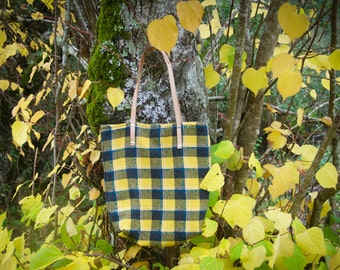 SALE - Autumn Tartan Bag
