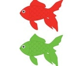 Red and Green Fishes