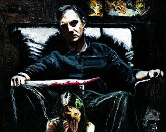 The Walking Dead The Guvnor Limited Edition Art Print