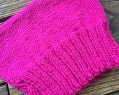 3 Custom Pink Hats