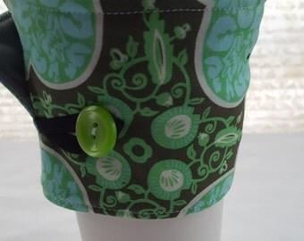 Reusable Coffee Cozie Sleeve Amy Bulter Green