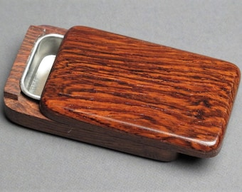 Wood and Steel Sliding [Pill Box], Exotic Woods