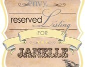 Custom Vintage Carnivale Ticket Wedding Meet & Greet BBQ Invitation Sets... Reserved for Janelle G.
