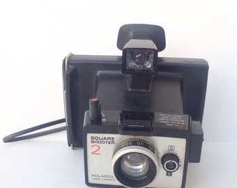Vintage Polaroid Square Shooter Land Camera instant camera. Photography. Photographer. Photograph.