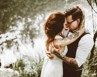 Rustic wedding dress, convertible bridal gown, wedding dress lace, convertible wedding dress, lace wedding dresses, backless wedding dress