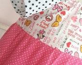 Size 9/10 Minnie Love Peasant Play Dress