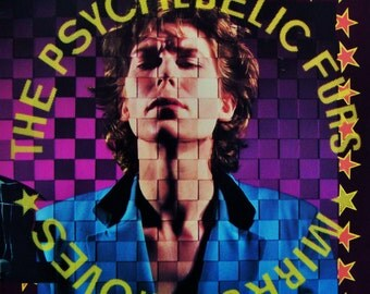 "PSYCHEDELIC FURS ""Mirror Moves"" Vinyl NM Record Original 1984 Press London Punk New Wave Music John Hughes Pretty in Pink Richard Tim Butler"