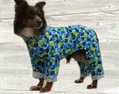 Lightweight Dog Pajamas, custom made for your dog