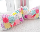 SPECIAL ORDER FOR Mrs. Lyon Set Of Two Patchwork Quilt Style Pillow Shams