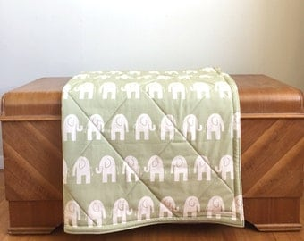 Super Size Cotton Double Padded Elephant Tummy Time Mat. No Foam Baby Play Mat.