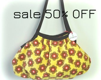 SALE 50% OFF - Shoulder Bag-BOHO-Zipper Closure