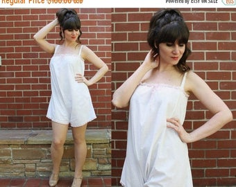 ON SALE Antique 1920s Step In Chemise / 1920s Teddy Lingerie