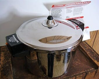 Kuhn Rikon Pressure Cooker With Steam Plate # 3352 6 Qt