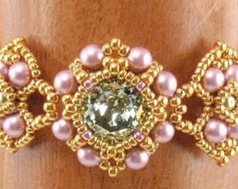 Beading Tutorial for Persian Gems Bracelet